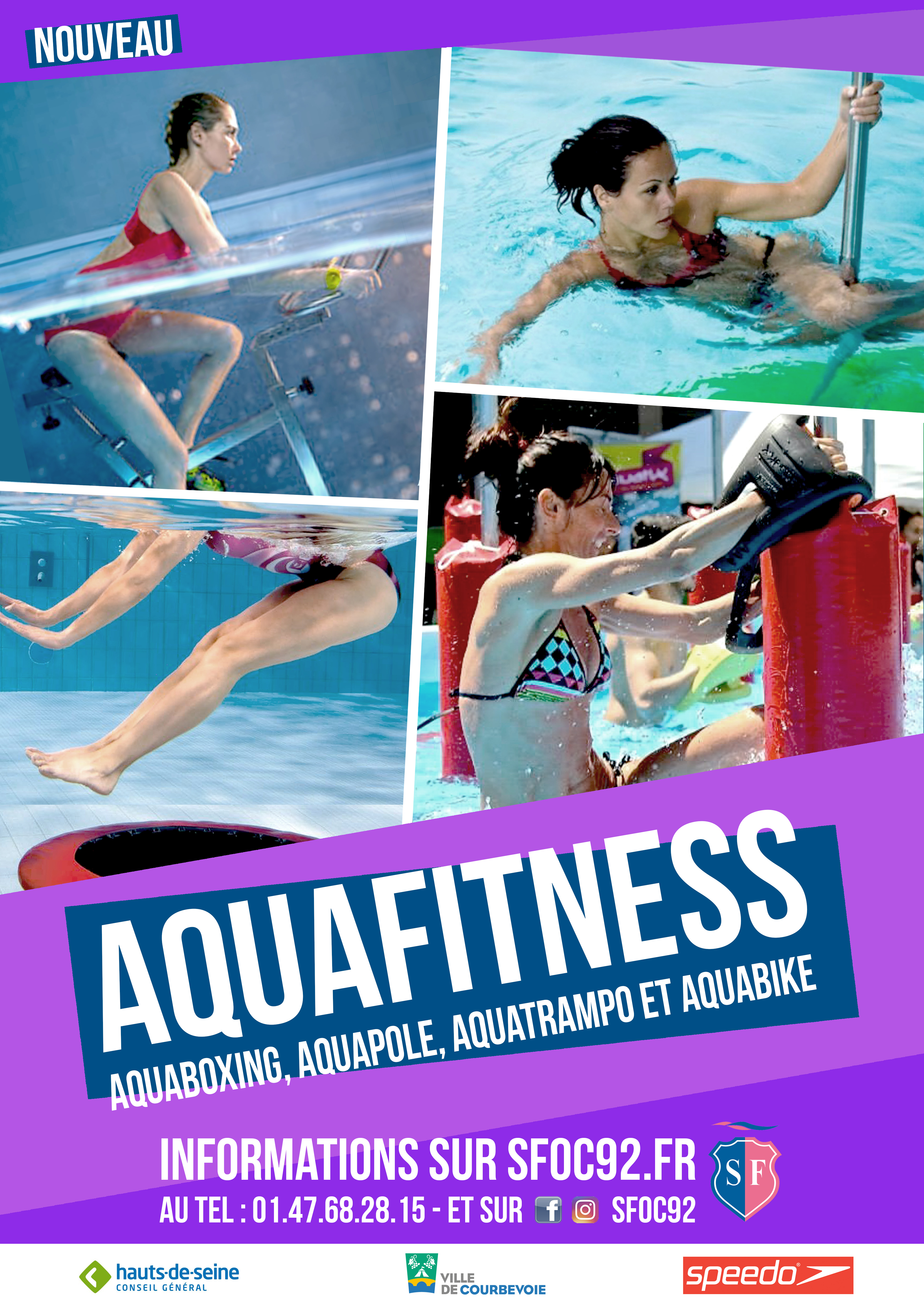 Aquafitness et Cross Swim