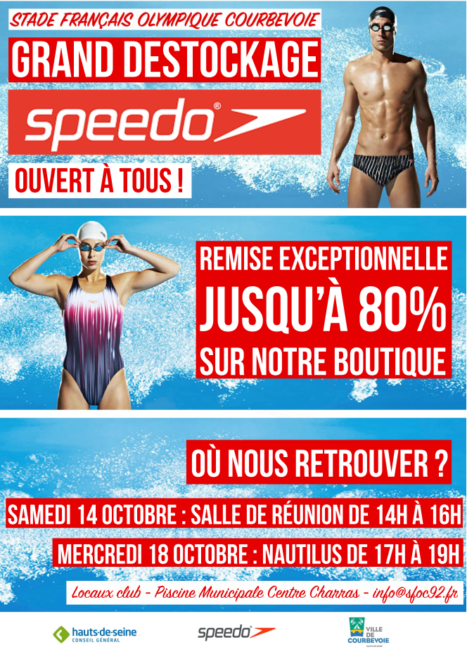 GRAND DESTOCKAGE BOUTIQUE SPEEDO